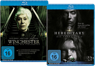 WINCHESTER/HEREDITARY (LTD.) - (Blu-ray)