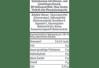 SODASTREAM Getränkesirup Zitrone-Limette Ohne Zucker, 500 ml