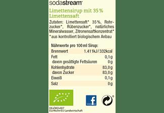 SODASTREAM Getränkesirup Bio-Sirup Limette, 500 ml