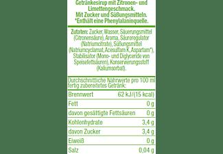 SODASTREAM Getränkesirup Zitrone-Limette-Geschmack, 500 ml