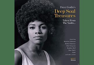 VARIOUS - Dave Godin's Deep Soul Treasures Taken From The Va  - (Vinyl)