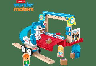 FISHER PRICE Wunder Werker Post, Baukasten, Konstruktions-Spielzeug Bausatz Mehrfarbig