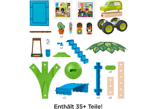 FISHER PRICE Wunder Werker Strandbungalow, Baukasten, Konstruktions-Spielzeug Bausatz Mehrfarbig