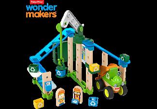 FISHER PRICE Wunder Werker Recycling Center, Baukasten, Konstruktions-Spielzeug Bausatz Mehrfarbig