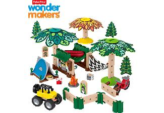FISHER PRICE Wunder Werker Campingplatz, Baukasten, Konstruktions-Spielzeug Bausatz Mehrfarbig