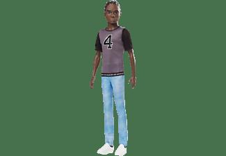 BARBIE Ken Fashionistas im Trikot Puppe Mehrfarbig