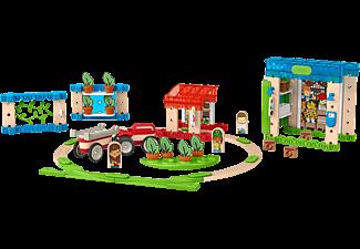 FISHER PRICE Wunder Werker Kleine Stadt, Baukasten, Konstruktions-Spielzeug Bauset Mehrfarbig