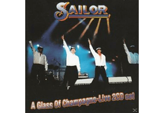 Sailor - A Glass Of Champagne-Live!  - (CD)
