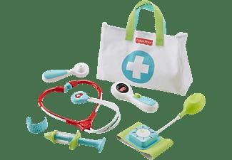 FISHER PRICE Arzttasche (7 Teile), Kinder-Spielzeug Kinder Arztkoffer Mehrfarbig