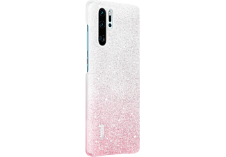 HUAWEI VOGUE Glamorous Case, Backcover, Huawei, P30, Rosa/ Weiß