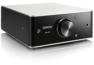 Amplificador estéreo - Denon PMA-60, 2.0 canales, 50W/canal, Display OLED, Hi-Res Audio, Bluetooth, NFC, Negro