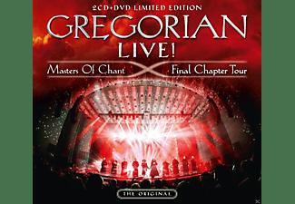Gregorian - LIVE! Masters Of Chant-Final Chapter Tour (Ltd.)  - (DVD + CD)