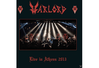 Warlord - Live In Athens 2013 (Triple Blood Red Vinyl+Pos)  - (Vinyl)