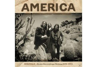 America - Heritage: Home Recordings/Demos 1970-1973  - (CD)