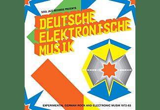 Soul Jazz Records - Deutsche Elektronische Music 1972-83(A):New Editio  - (LP + Download)