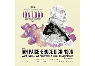 Jon Lord, VARIOUS - Celebrating Jon Lord-The Rock Legend Vol.1 (Ltd.)  - (LP + DVD Video)