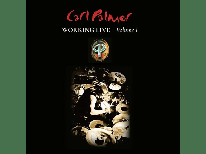 Carl Palmer - Working Live Vol.1 (Limited Vinyl Edition) [LP + Bonus-CD]