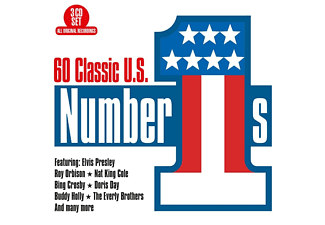 VARIOUS - 60 Classic US Number 1s  - (CD)