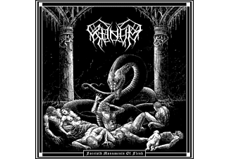 Khnvm - FORETOLD MONUMENTS OF FLESH (BLACK VINYL)  - (Vinyl)