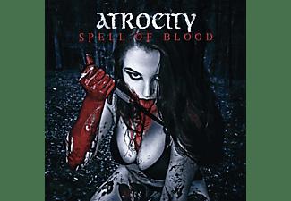 "Atrocity - Spell Of Blood/Blue Blood  (Green 7"" Single)  - (Vinyl)"