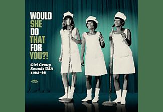 VARIOUS - Would She Do That For You?! (Black Vinyl)  - (Vinyl)