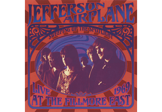 Jefferson Airplane - Live At The Fillmore East 1969  - (CD)