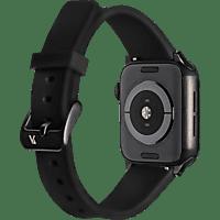 ARTWIZZ 4774-2963 Watchband Sili, Ersatzarmband, Apple, Schwarz