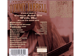 Tommy Jarrell - LEGACY VOL 3: COME AND GO WITH  - (CD)