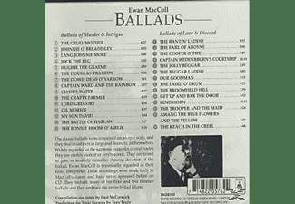 Ewan Maccoll - BALLADS-MURDER INTRIGUE  - (CD)