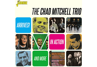 The Chad Mitchell Trio - ARRIVES! / IN ACTION &..  - (CD)