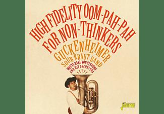 Guckenheimer Sour Kraut Band, Karl von Stevens And His Orchestra - HIGH FIDELITY..  - (CD)