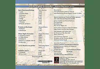 Anton Baranov - White Nights Serenades  - (CD)