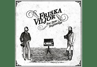 Friska Viljor - for new beginnings (ltd white edition)  - (Vinyl)