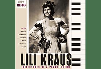Lili Kraus - MILESTONES OF A PIANO LEGEND: LILI KRAUS  - (CD)