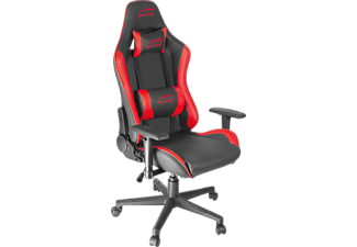 Speedlink XANDOR Gaming Chair Schreibtischstuhl bequemes Sitzen für lange Gaming Sessions stabiles und robustes Material, schwarz rot