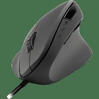 SPEEDLINK Piavo ergonomische Maus, Schwarz