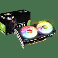 INNO3D RTX 2060 TWIN X2 OC RGB (N20602-06D6X-1710VA15LB) (NVIDIA, Grafikkarte)