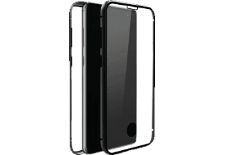 BLACK ROCK 360° Glass Ultradünn, Full Cover, Samsung, Galaxy S10+, Schwarz
