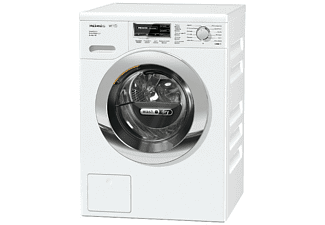 Lavadora secadora - Miele WTF 105 WCS SERIES 120, 7 Kg, 1600 rpm, CapDosing, Tambor protector, A, Blanco