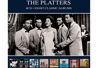 The Platters - EIGHT CLASSIC ALBUMS  - (CD)