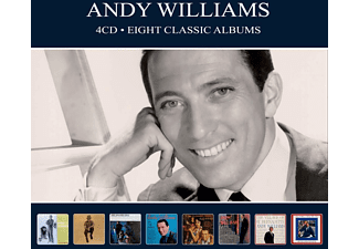 Andy Williams - EIGHT CLASSIC ALBUMS  - (CD)