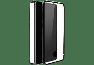 BLACK ROCK 360° Glass Ultradünn, Full Cover, Samsung, Galaxy S10, Schwarz