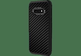 BLACK ROCK Robust Real Carbon, Backcover, Samsung, Galaxy S10e, Schwarz