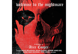 VARIOUS - WELCOME TO THE NIGHTMARE- TRIBUTE TO ALICE COOPER  - (CD)