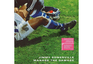 Jimmy Somerville - MANAGE THE.. -COLOURED-  - (Vinyl)
