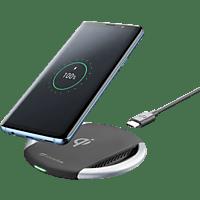 CELLULAR LINE Qi Wirelesspad Ladegerät Universal, Schwarz