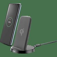 CELLULAR LINE Stand-Up Qi Ladegerät Universal, Schwarz