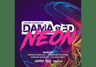 Jordan/Allen & Envy/Freedom Fight. Suckley - Damaged Neon  - (CD)
