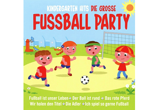 VARIOUS - Kindergarten Hits-Die Grosse Fußball Party  - (CD)