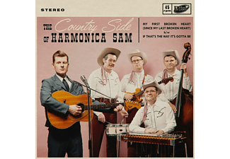 The Country Side Of Harmonica Sam - MY FIRST BROKEN HEART  - (Vinyl)